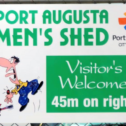 The Men's Shed, Port Augusta